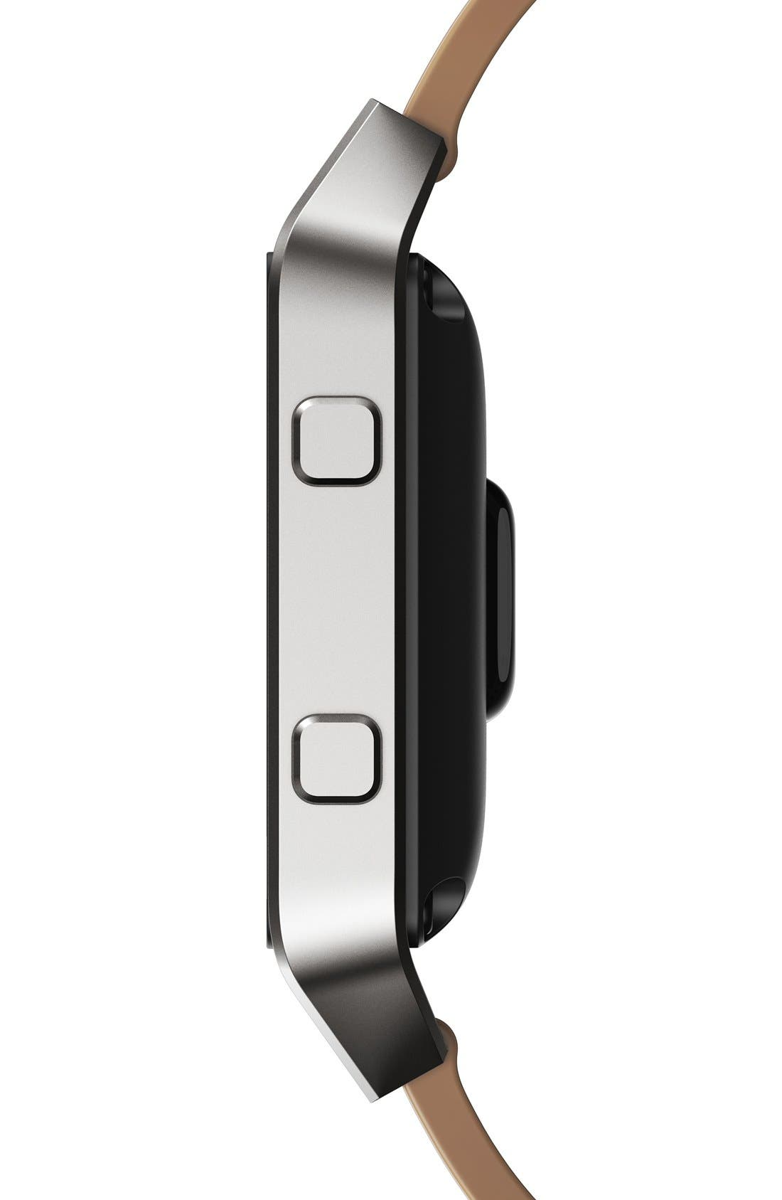 Alternate Image 4  - Fitbit Blaze Leather Smart Watch Band