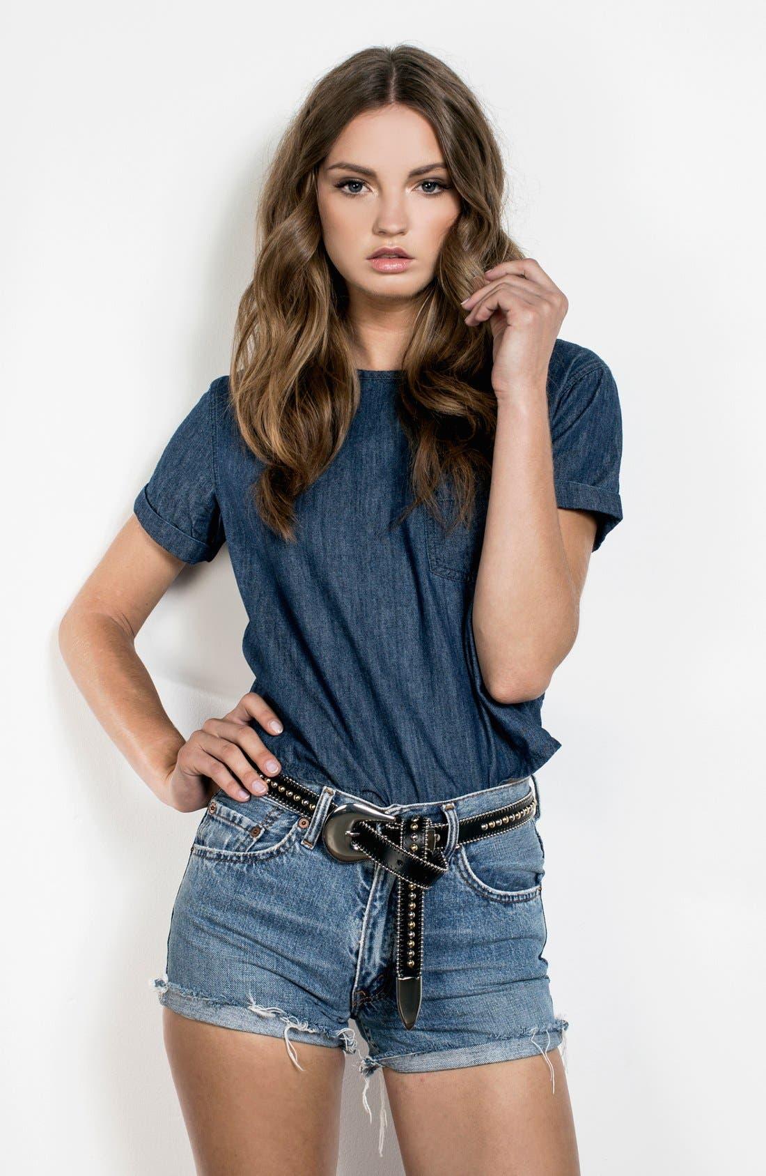 Alternate Image 3  - B-Low the Belt 'Barcelona' Studded Leather Belt