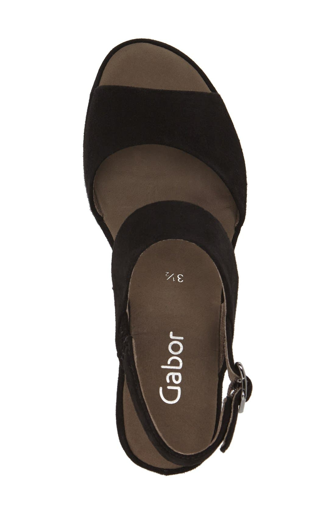 Alternate Image 3  - Gabor Two-Strap Sandal (Women)