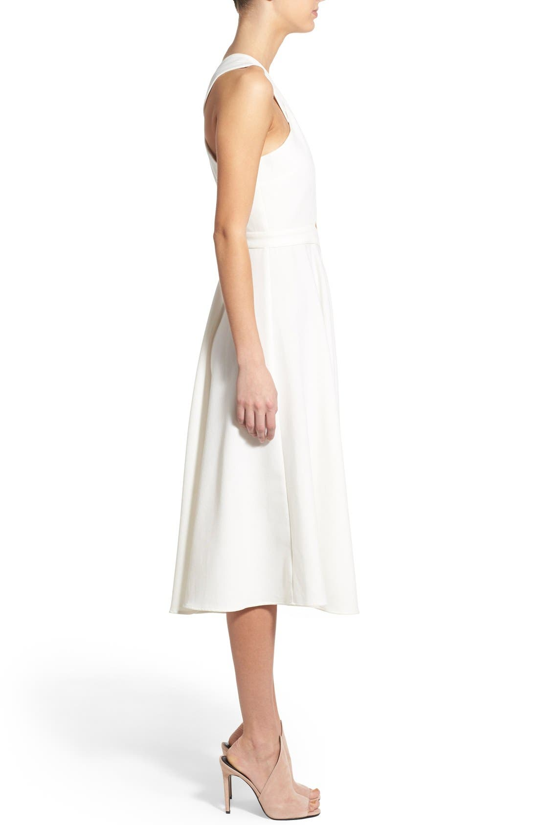 Alternate Image 3  - KENDALL + KYLIE Crossover Bodice Midi Dress
