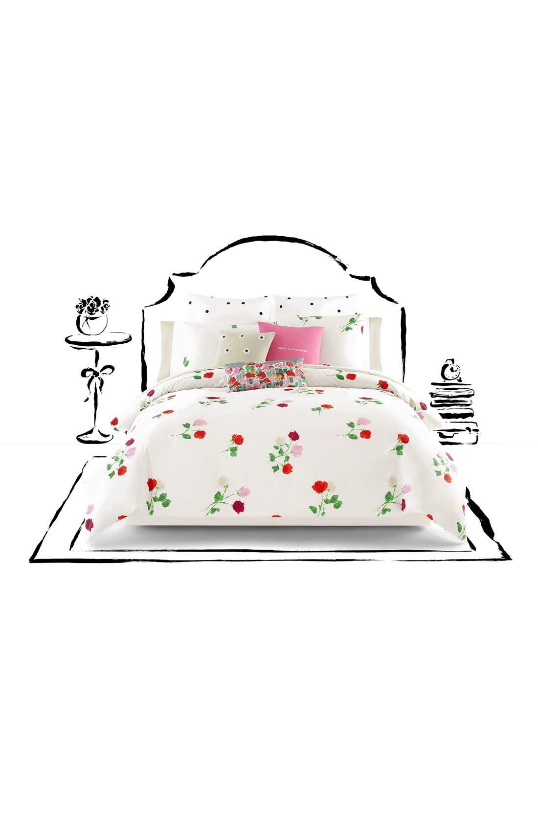 'willow court' comforter set,                         Main,                         color, Maraschino