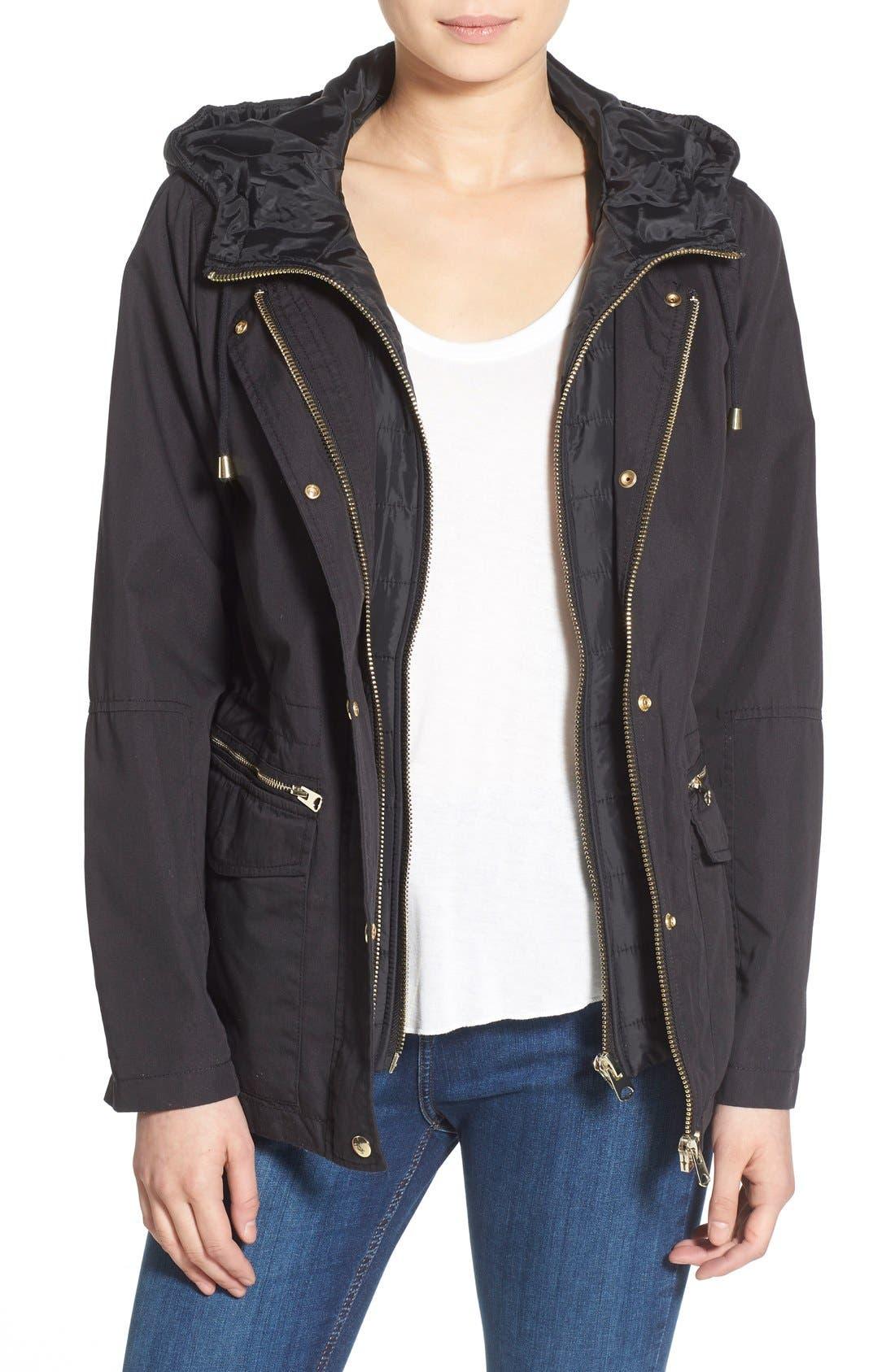 'Kiora' Jacket,                         Main,                         color, Navy Blue
