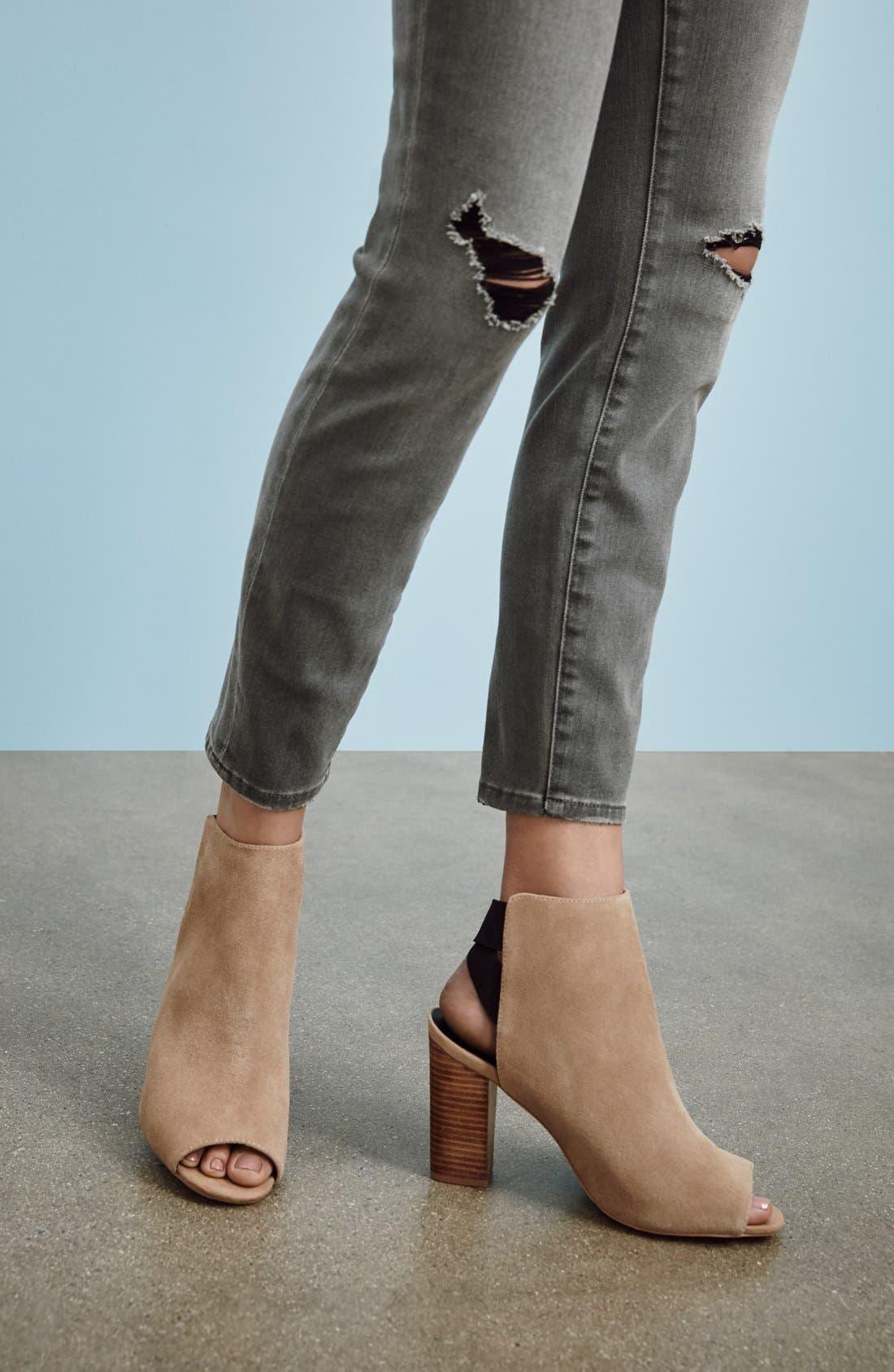 Alternate Image 5  - Sole Society 'Dakota' Peep Toe Bootie (Women)