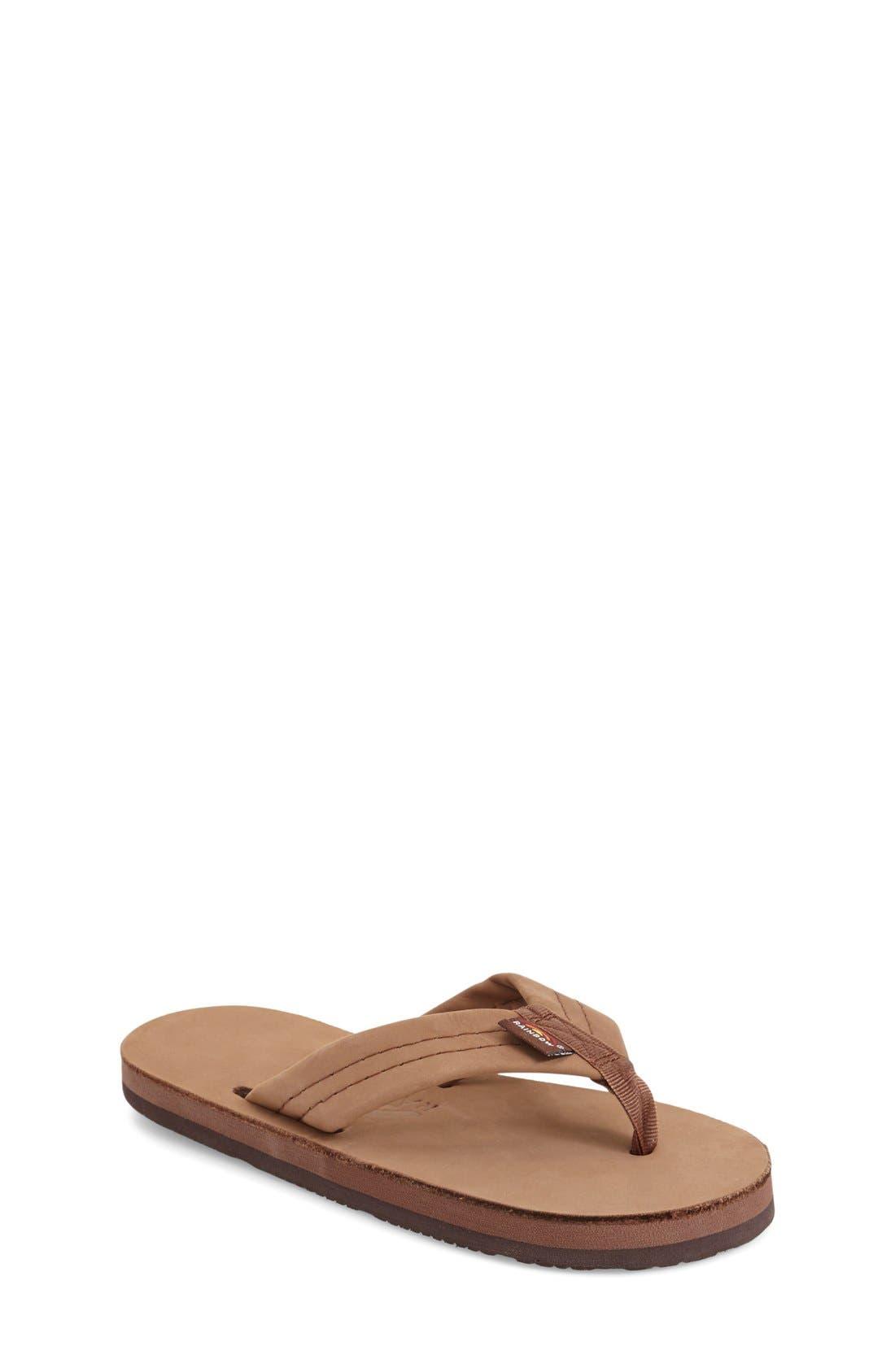 Rainbow Leather Sandal (Toddler, Little Kid & Big Kid)