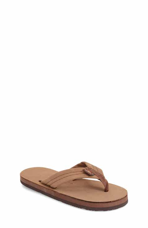 47004128276c Rainbow Sandals for Kids Brown