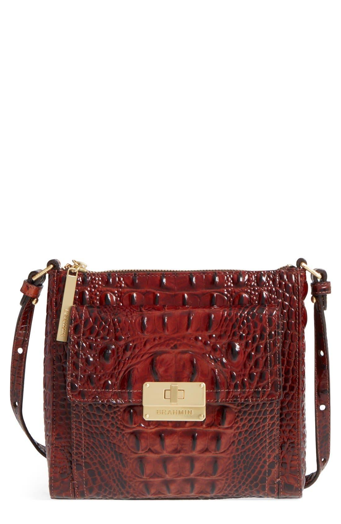 'Melbourne - Mimosa' Crossbody Bag,                         Main,                         color, Pecan