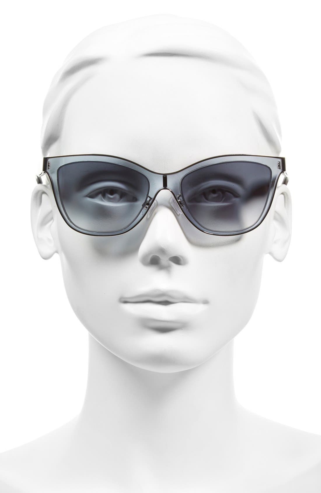 Alternate Image 2  - Balenciaga Paris 54mm Sunglasses