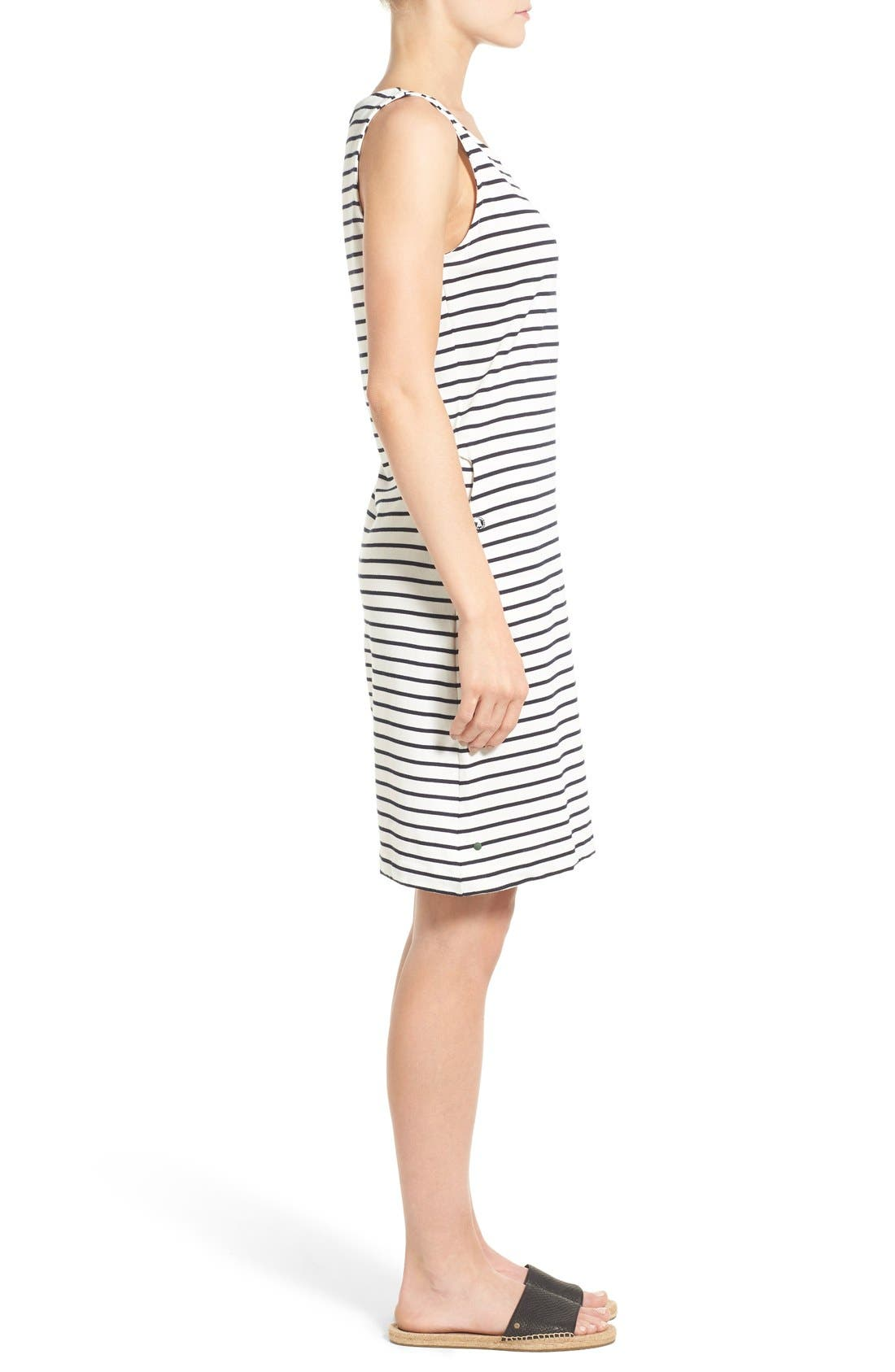 Alternate Image 3  - Barbour Dalmore Stripe Jersey Sleeveless Shift Dress