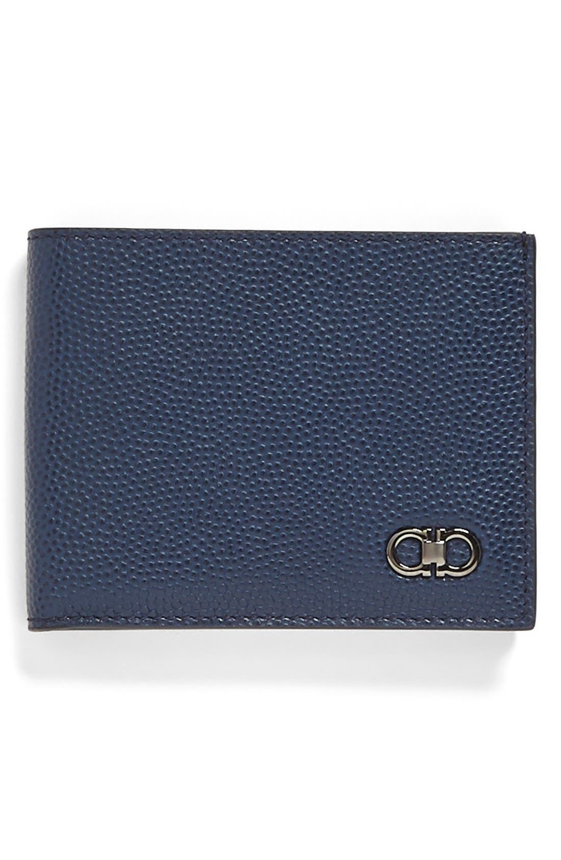 Trifold Wallet,                         Main,                         color, Ultramarine