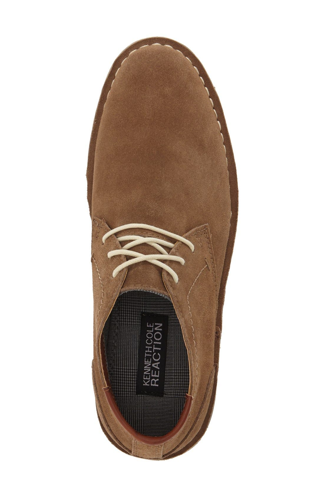 'Desert Sun' Chukka Boot,                             Alternate thumbnail 3, color,                             Taupe Suede