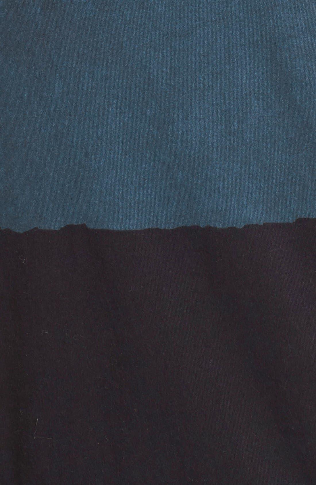 Alternate Image 5  - Lucky Brand Dyed Stripe Cotton Knit Midi Dress