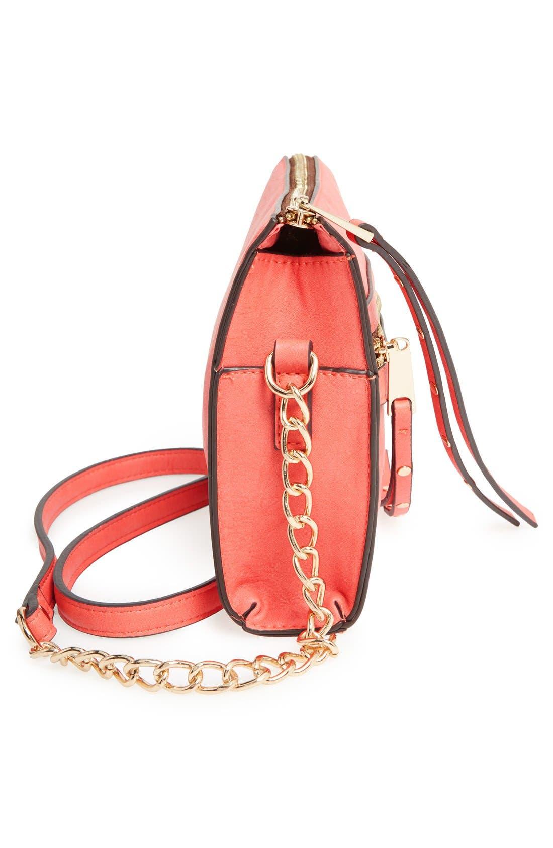 Alternate Image 5  - Dolce Girl Stud Crossbody Bag
