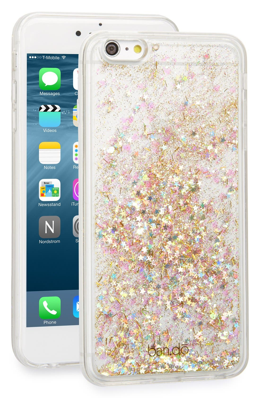 Alternate Image 1 Selected - ban.do 'Glitter Bomb' iPhone 6 Plus & 6s Plus Case
