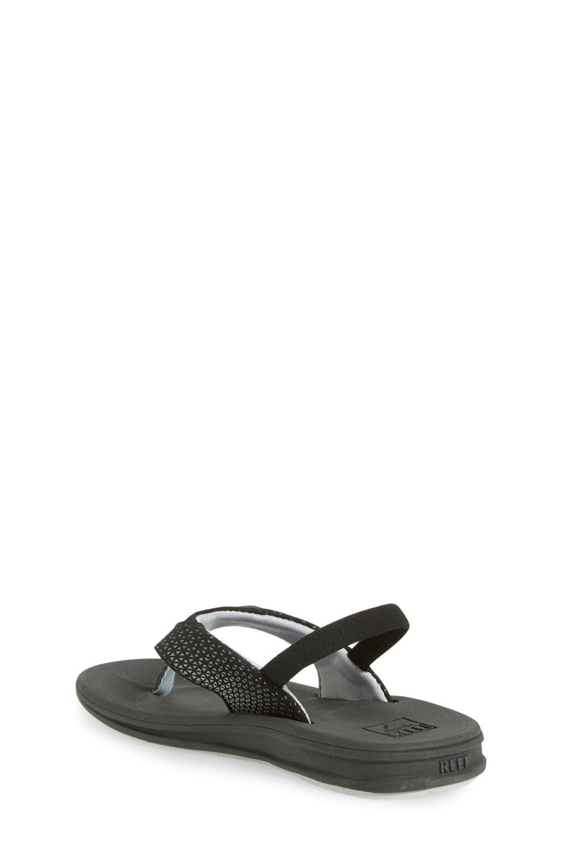 'Grom Rover' Water Friendly Sandal,                             Alternate thumbnail 2, color,                             Black