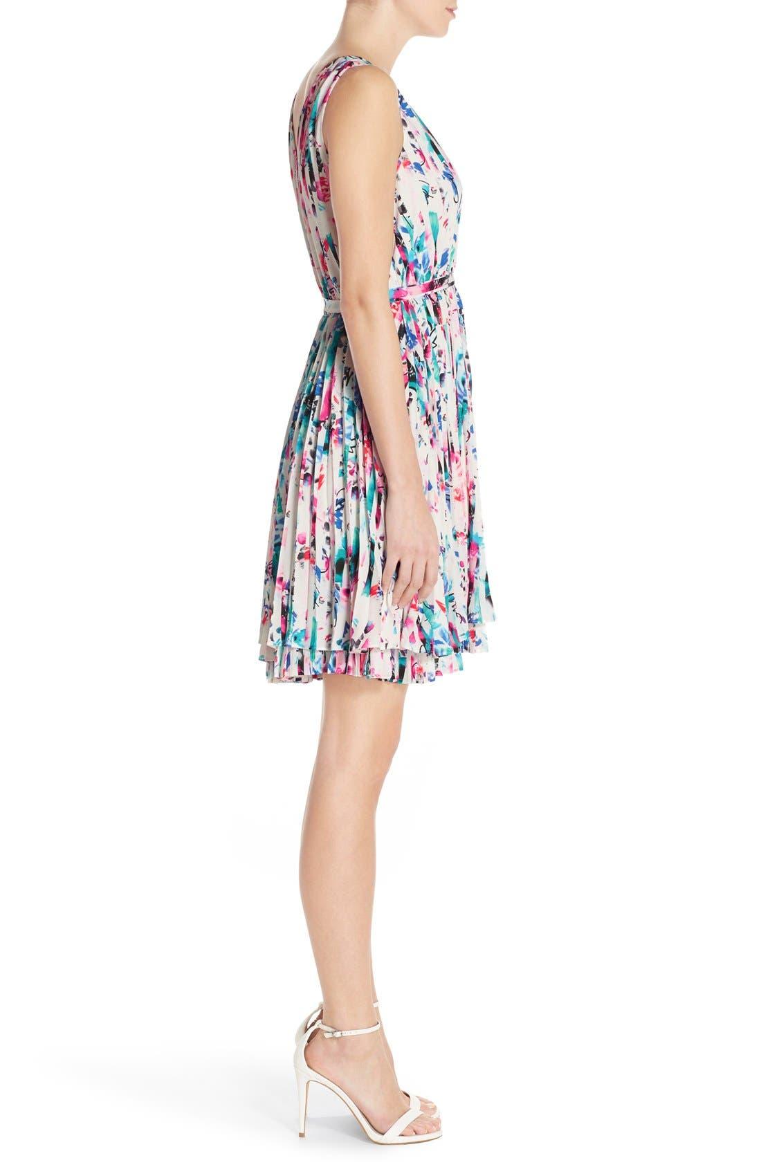 Alternate Image 3  - Chelsea28 Print Woven Fit & Flare Dress