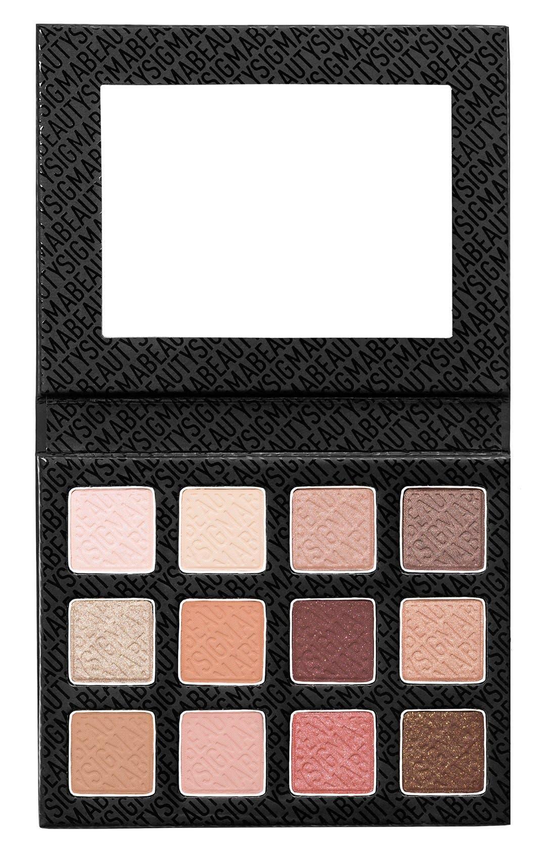 Sigma Beauty 'Warm Neutrals' Eyeshadow Palette