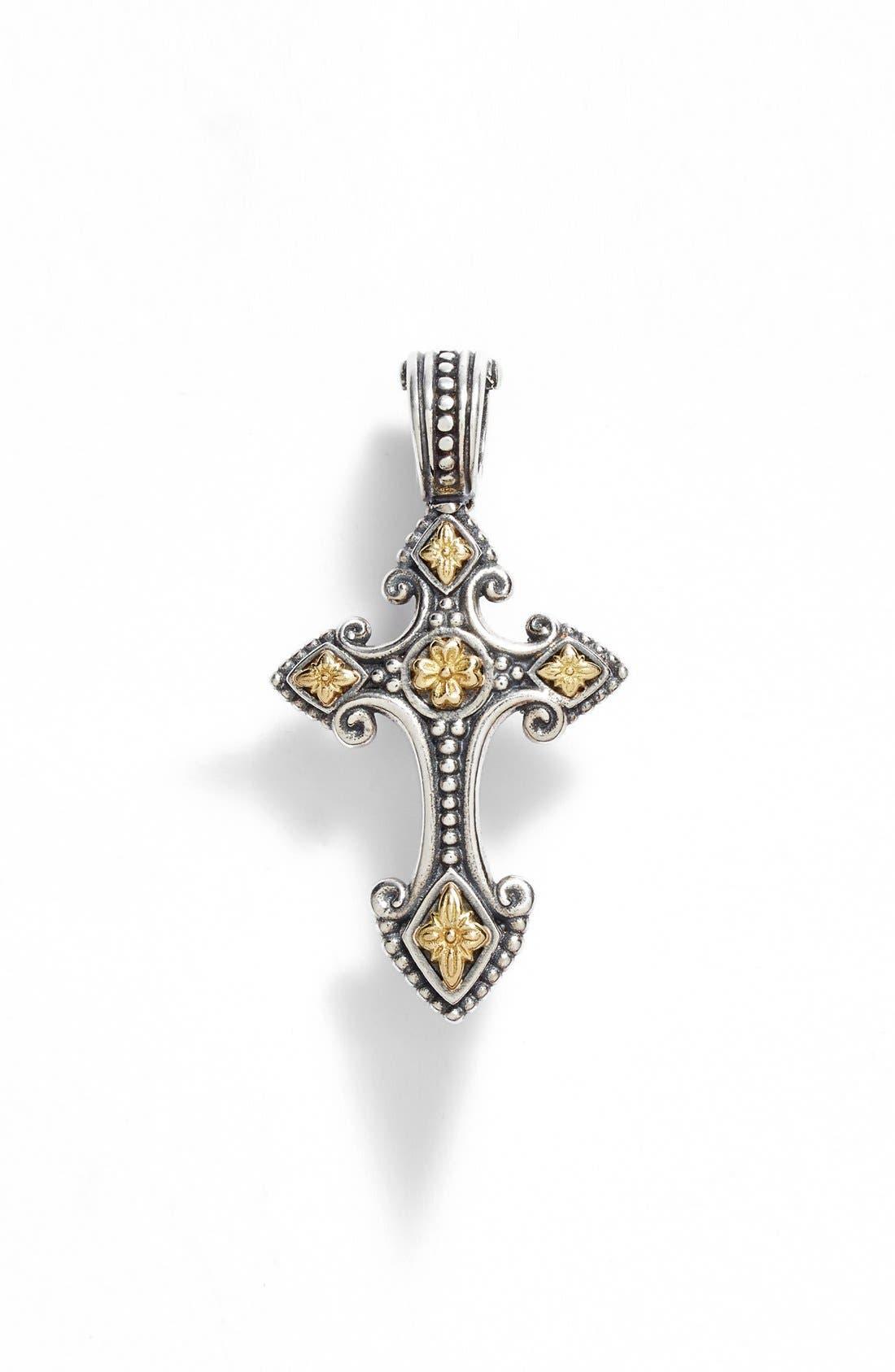 KONSTANTINO Hebe Petite Cross Pendant