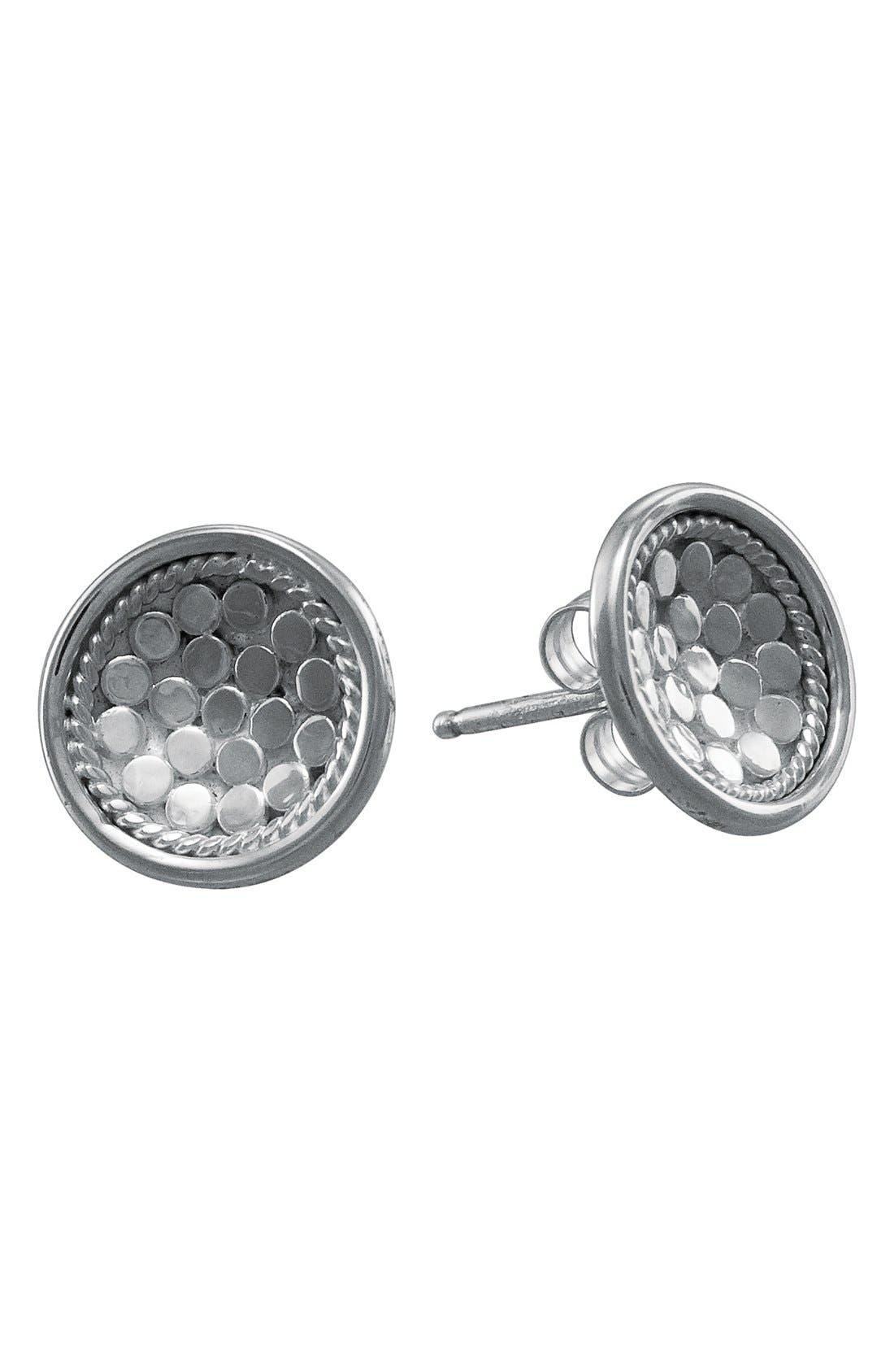 Alternate Image 1 Selected - Anna Beck 'Gili' Small Dish Stud Earrings