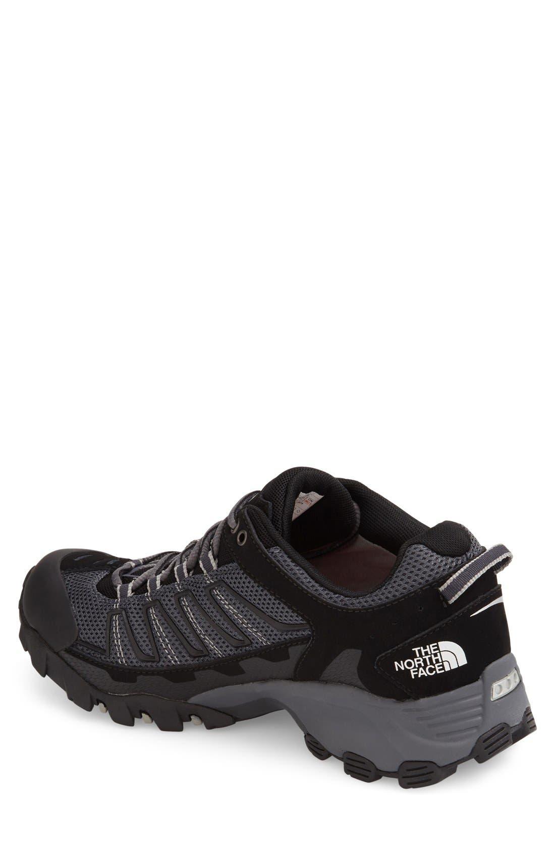 'Ultra 109 GTX' Waterproof Running Shoe,                             Alternate thumbnail 2, color,                             Black/ Dark Shadow Grey