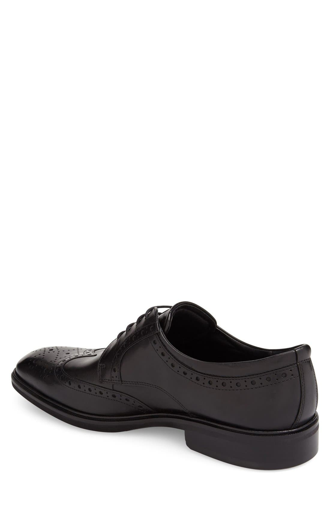 Alternate Image 2  - ECCO 'Illinois' Wingtip Derby (Men)