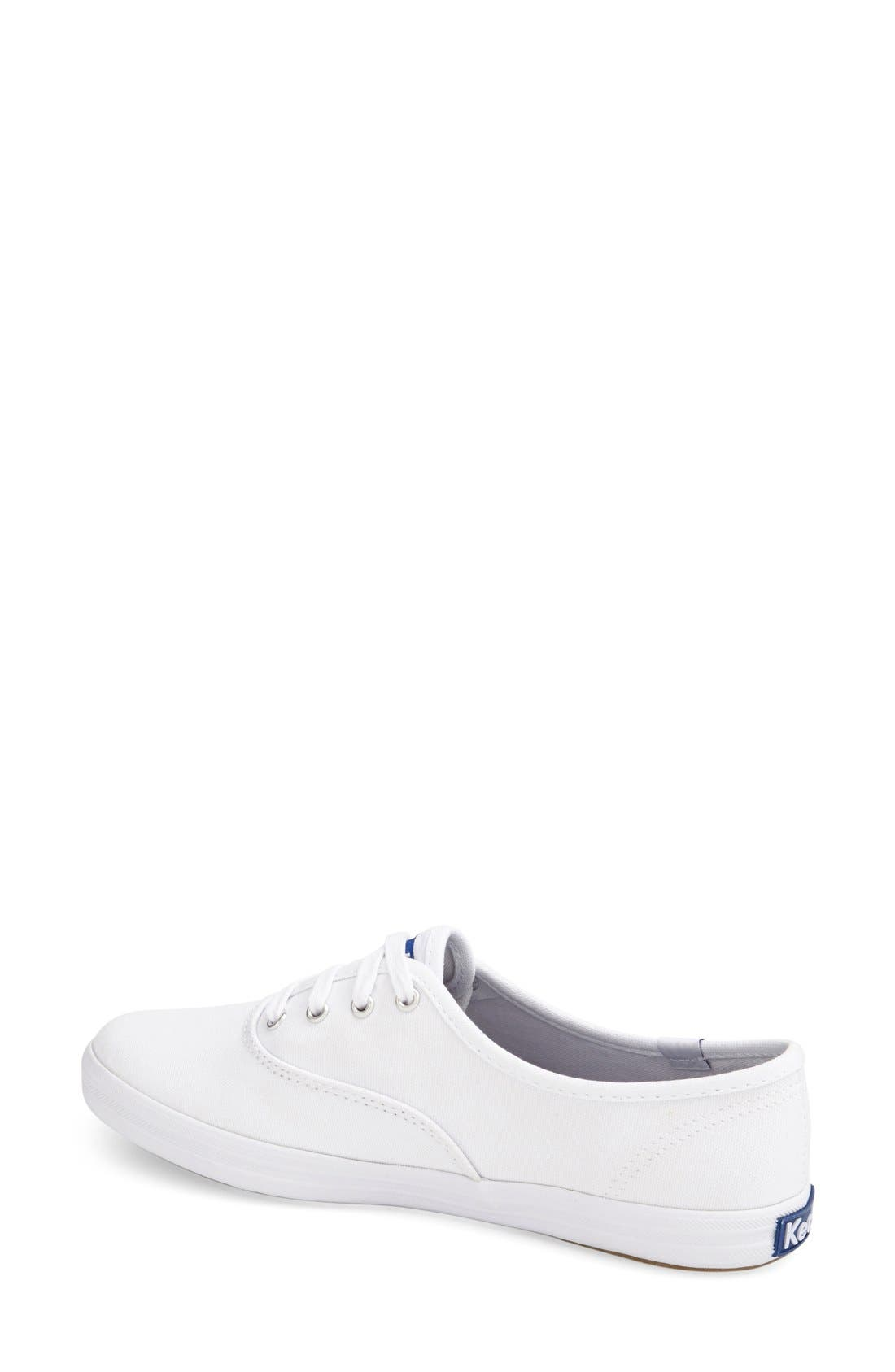 Alternate Image 2  - Keds® 'Champion' Canvas Sneaker (Women)