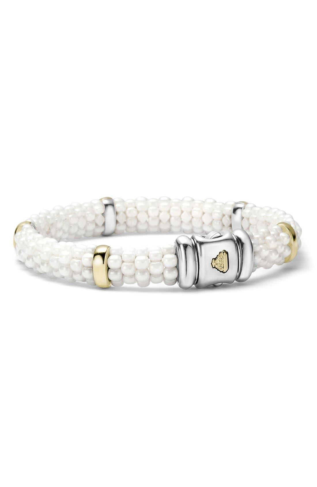 Alternate Image 2  - LAGOS 'White Caviar' Station Bracelet