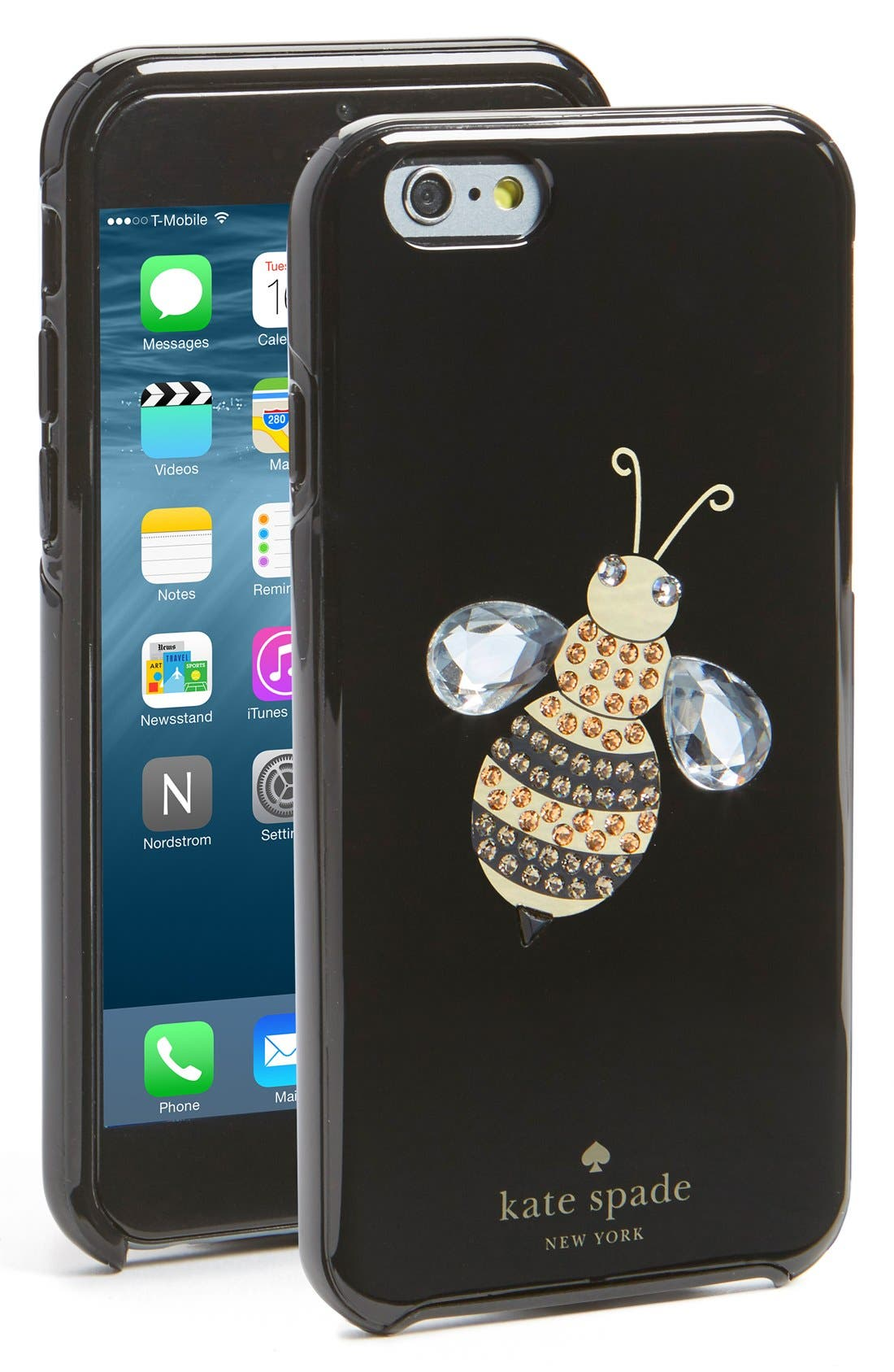 Alternate Image 1 Selected - kate spade new york 'queen bee' iPhone 6 & 6s case