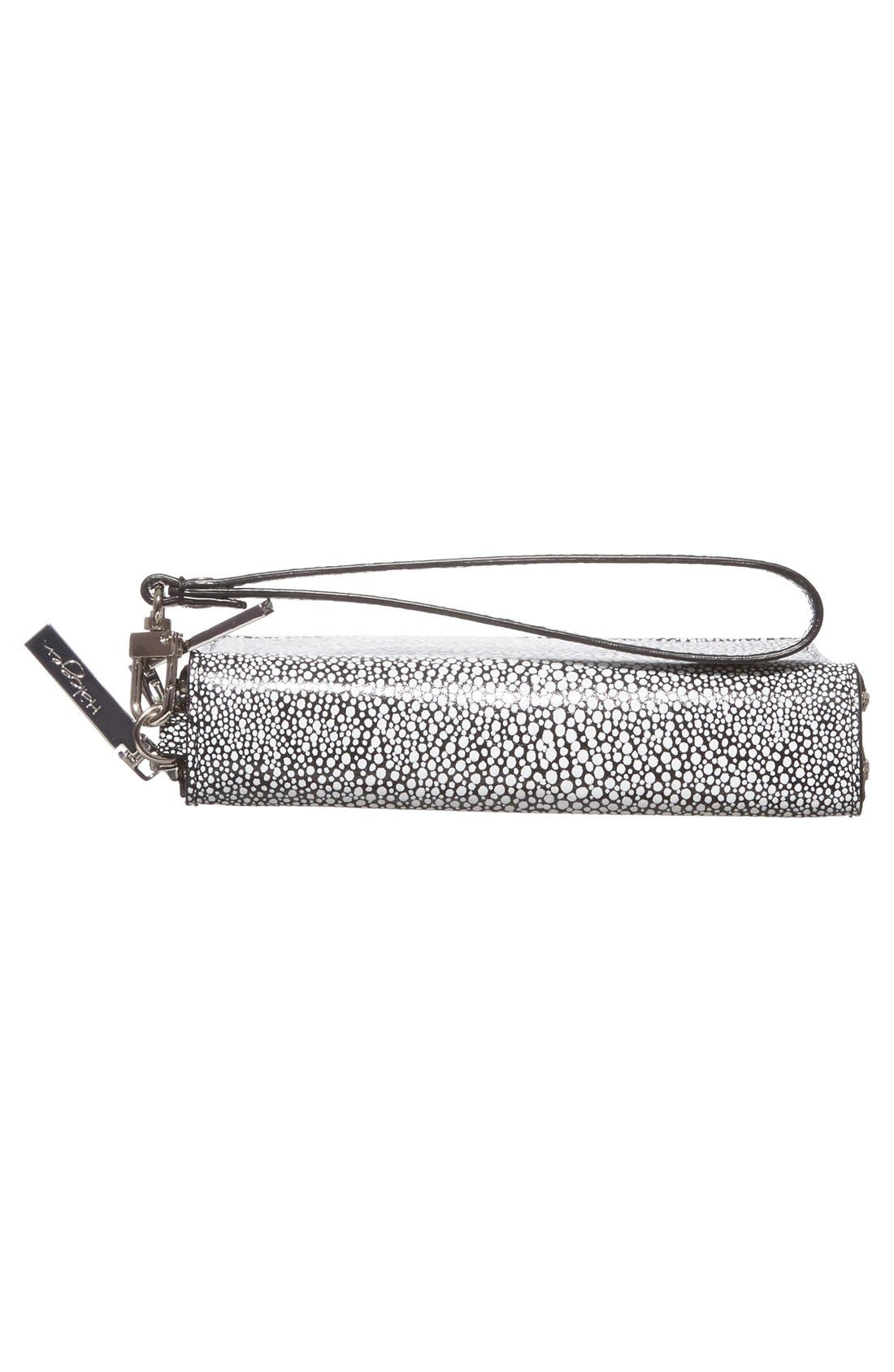 Alternate Image 6  - Halogen® 'Cassie' Double Zip Wristlet