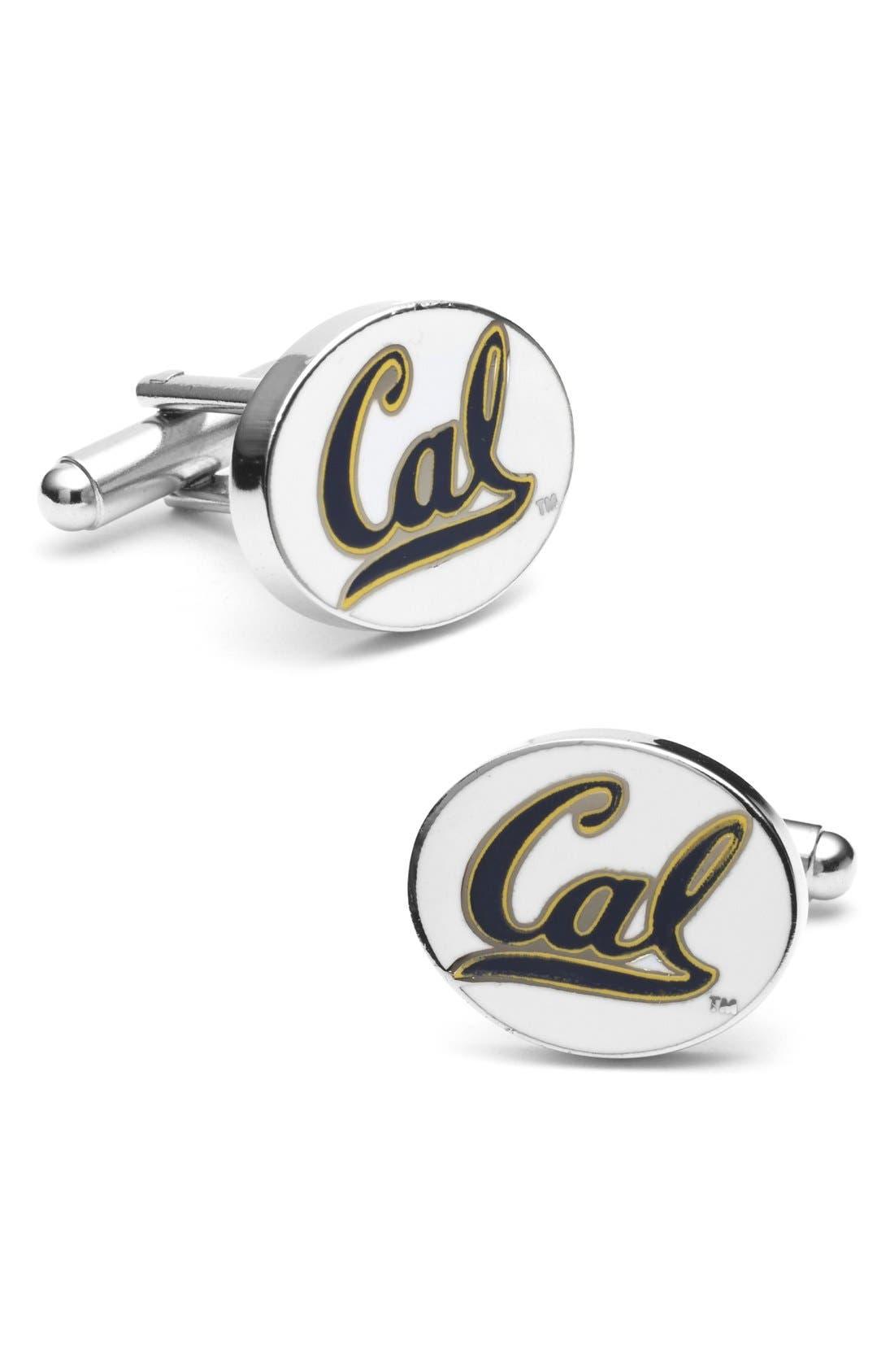 Alternate Image 1 Selected - Cufflinks, Inc. 'University of California Golden Bears' Cuff Links