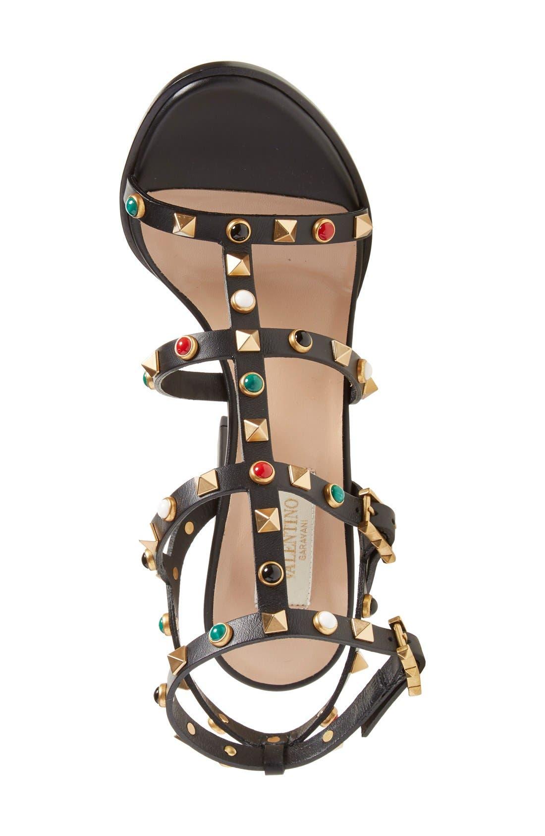 Alternate Image 3  - Valentino 'Vitello' Studded Sandal (Women)