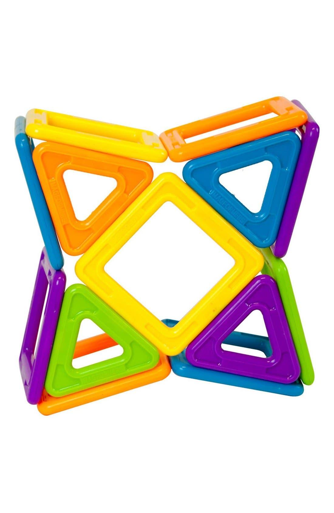 'Vehicle - WOW' Magnetic 3D Construction Set,                             Alternate thumbnail 3, color,                             Opaque Rainbow