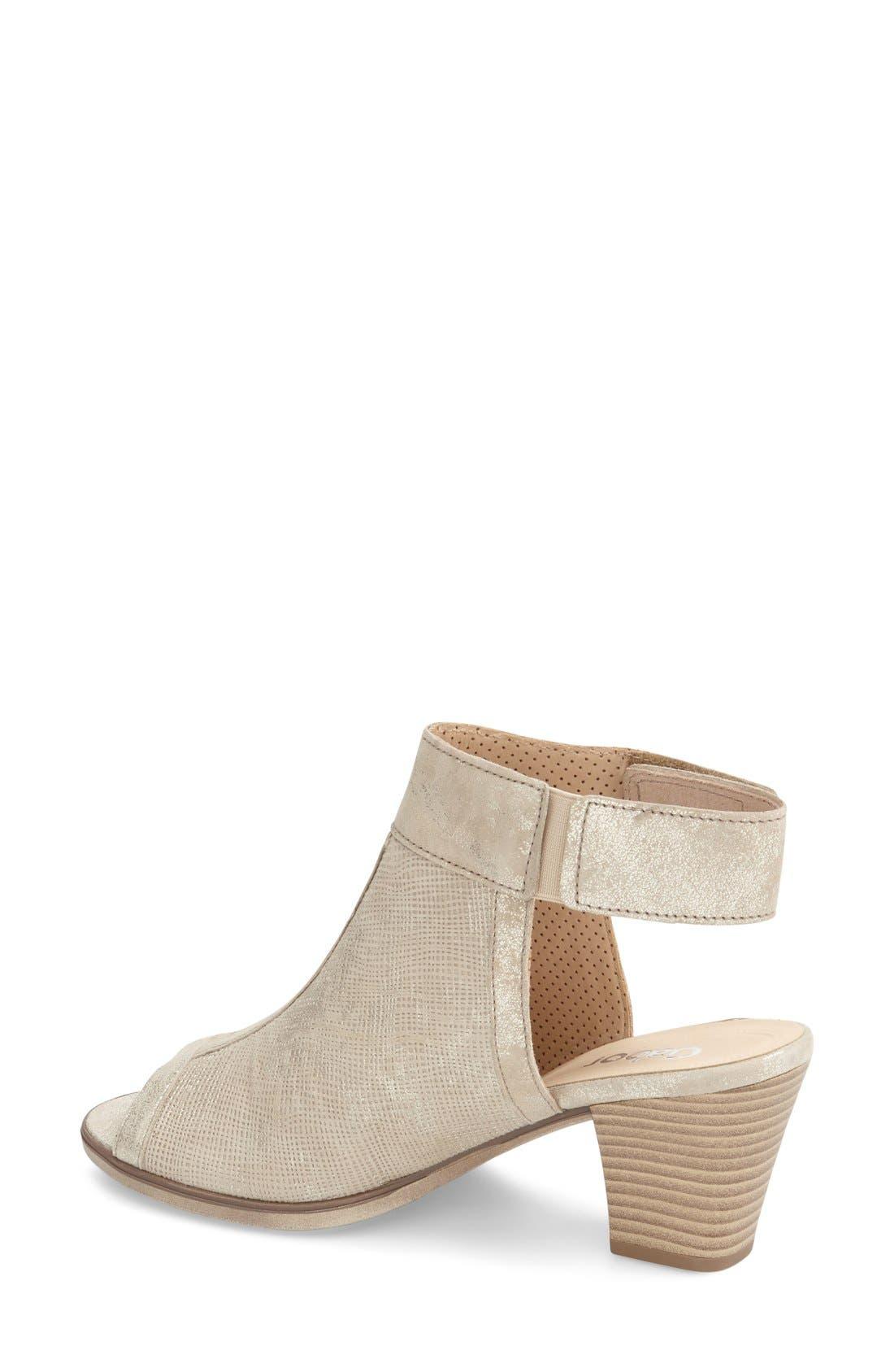 Alternate Image 2  - Gabor Open Toe Leather Sandal (Women)