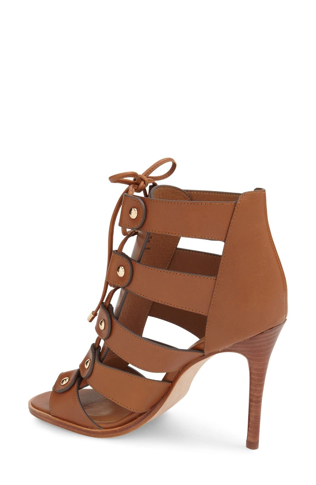 Alternate Image 2  - COACH 'Leslie' Lace-Up Sandal (Women)