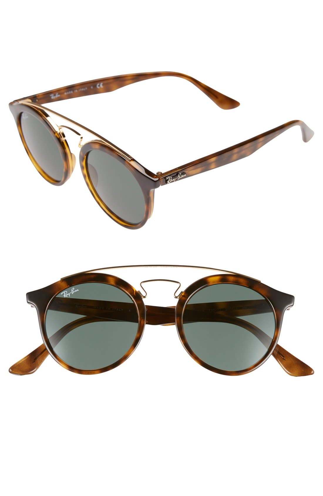 Main Image - Ray-Ban Highstreet 46mm Sunglasses