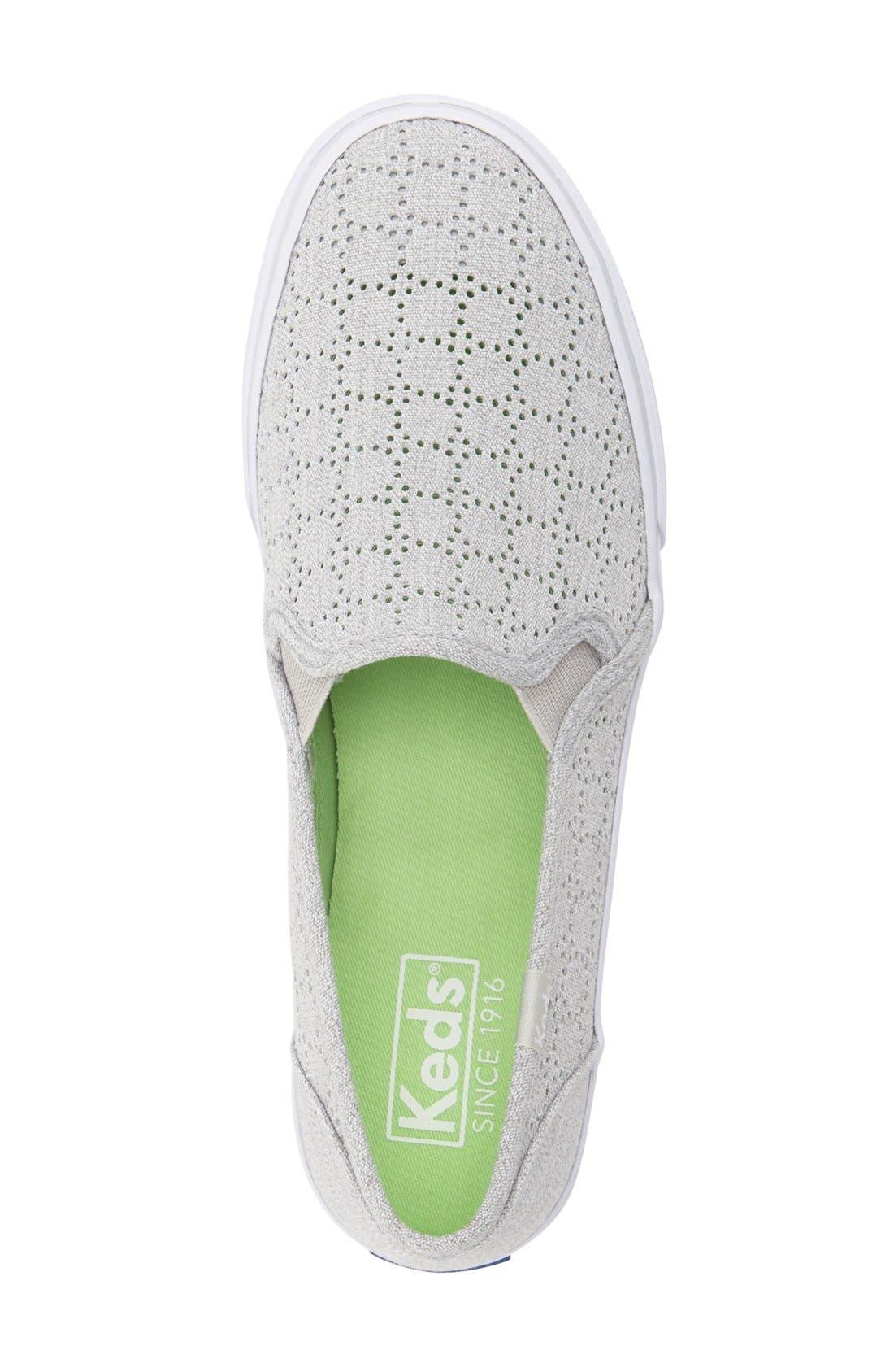 Alternate Image 3  - Keds® 'Double Decker' Perforated Slip-On Sneaker (Women)