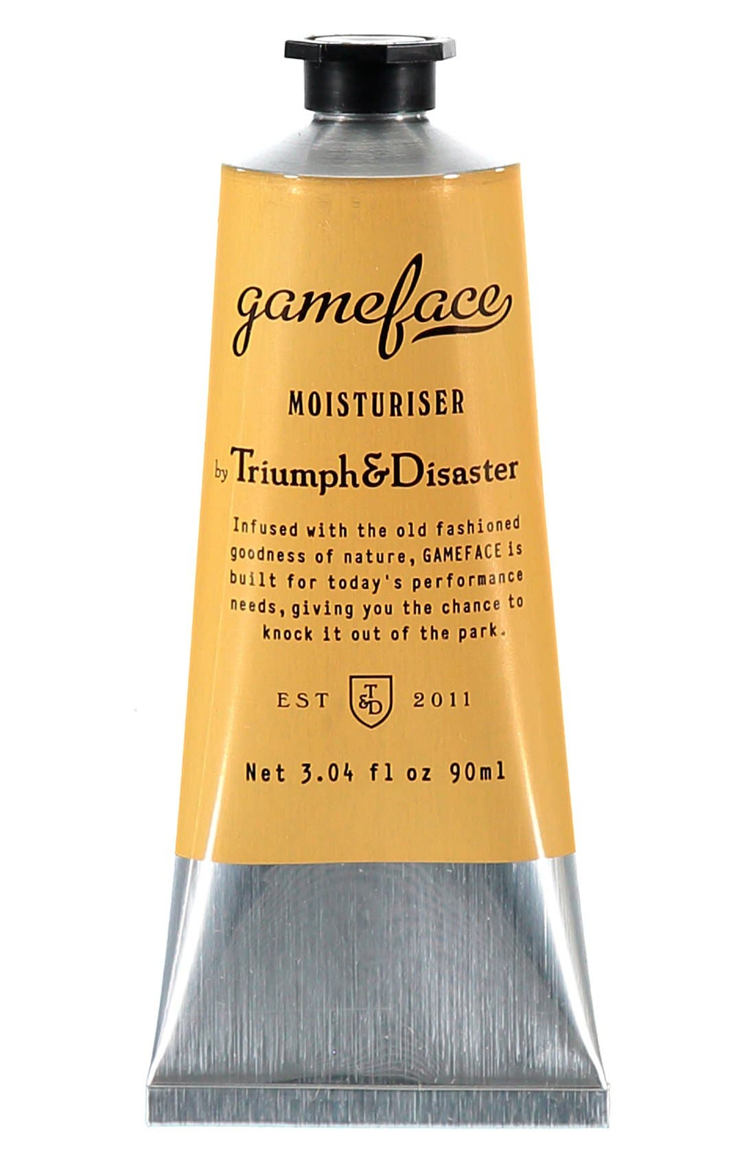 Triumph & Disaster 'Gameface' Moisturizer Tube