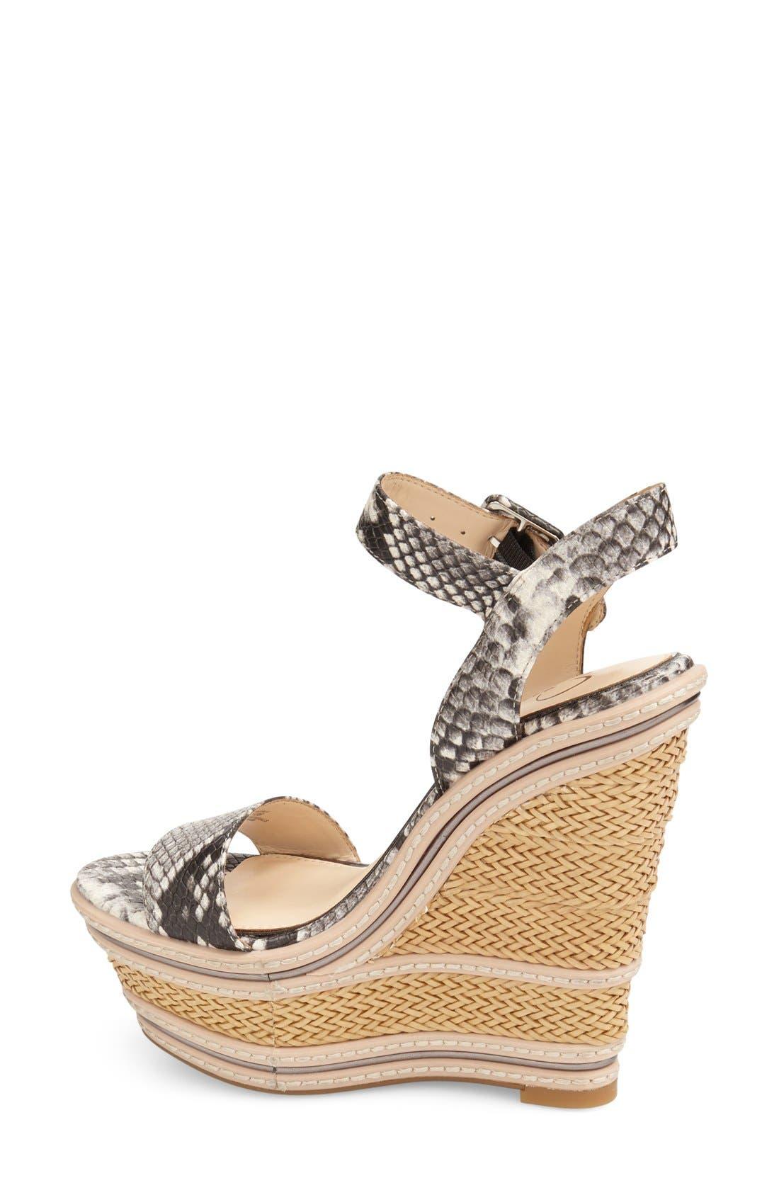 Alternate Image 2  - Jessica Simpson 'Ayala' Wedge Sandal (Women)