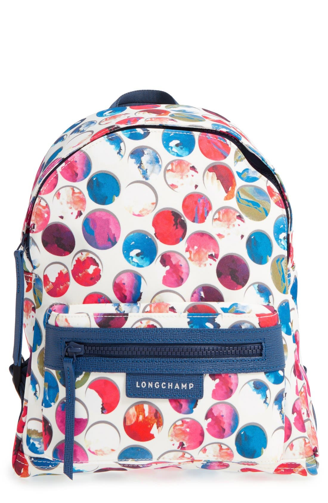 Main Image - Longchamp 'Small Le Pliage - Neo Fantaisie' Canvas Backpack