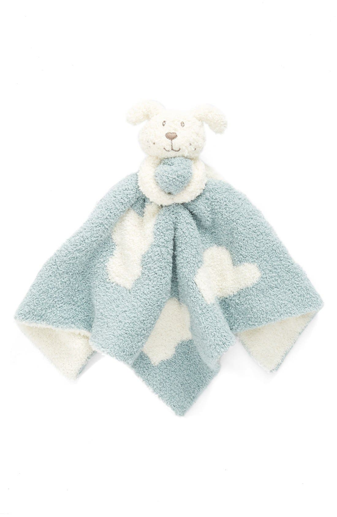 'Cloud Buddie' Blanket,                             Main thumbnail 1, color,                             Blue Wave/ Cream