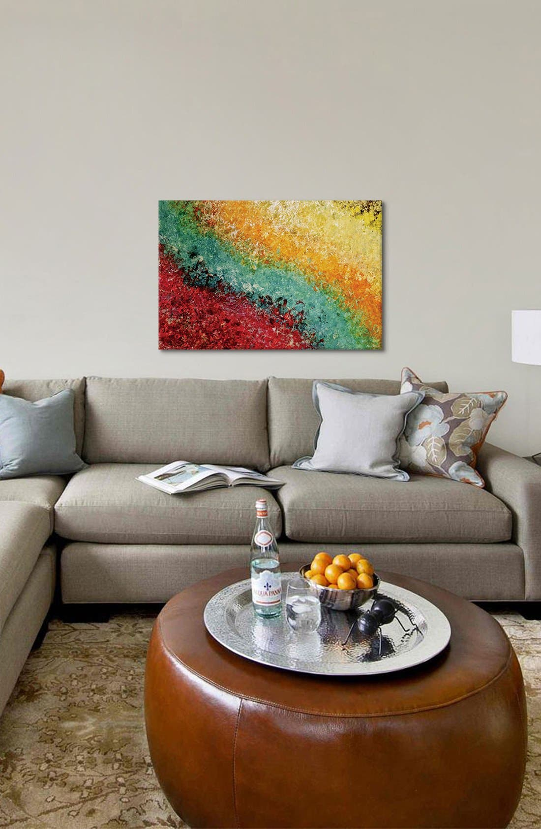 'Enchanted Lullaby' Giclée Print Canvas Art,                             Alternate thumbnail 2, color,                             Yellow