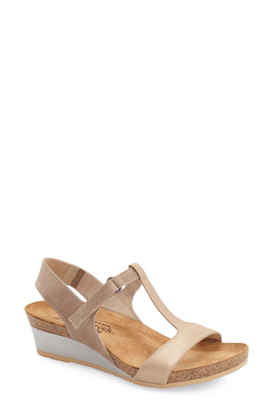 Naot 'Unicorn' T-Strap Sandal (Women)