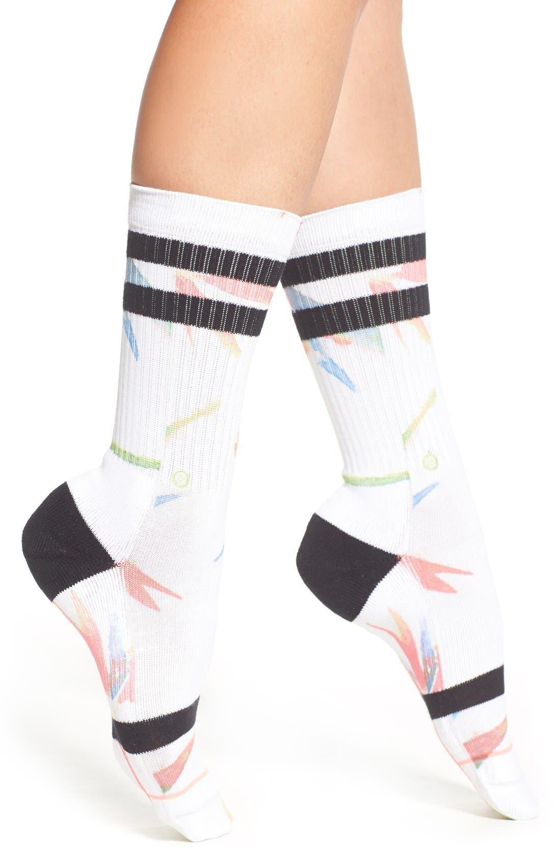 Alternate Image 1 Selected - Stance 'Birds of Paradise' Socks