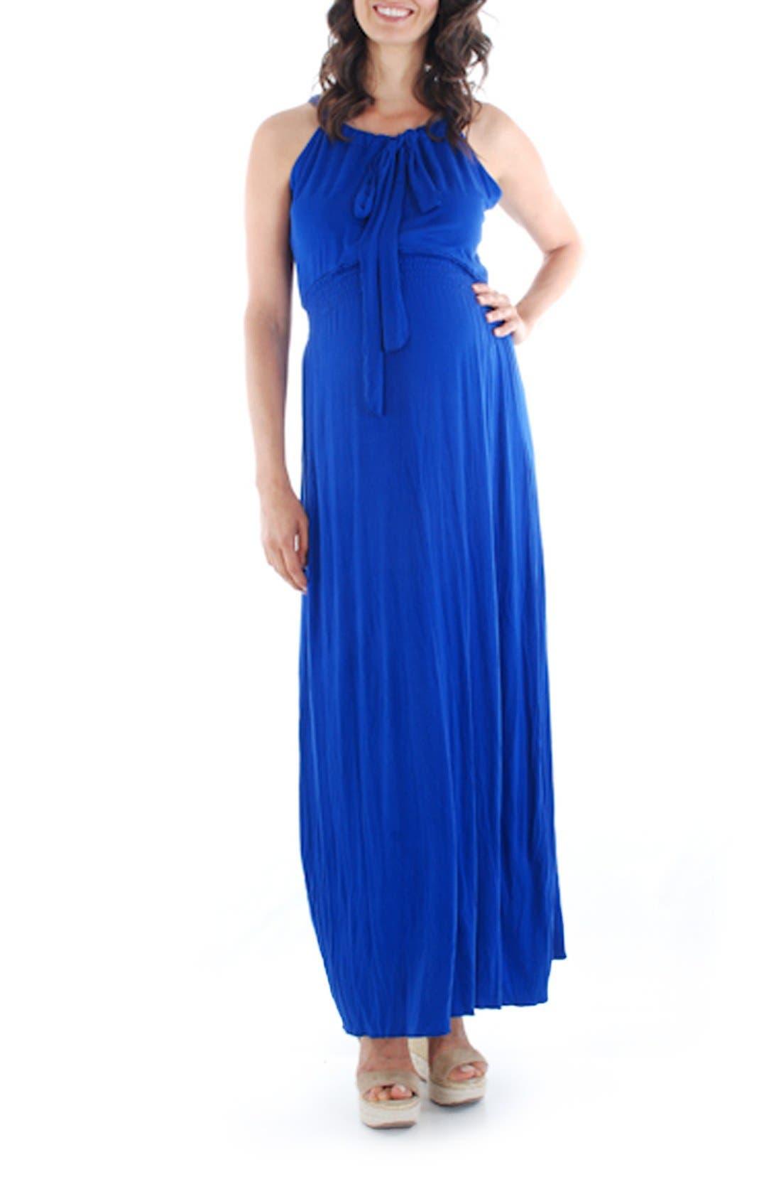 Main Image - Everly Grey 'Harmony' Maternity Maxi Dress