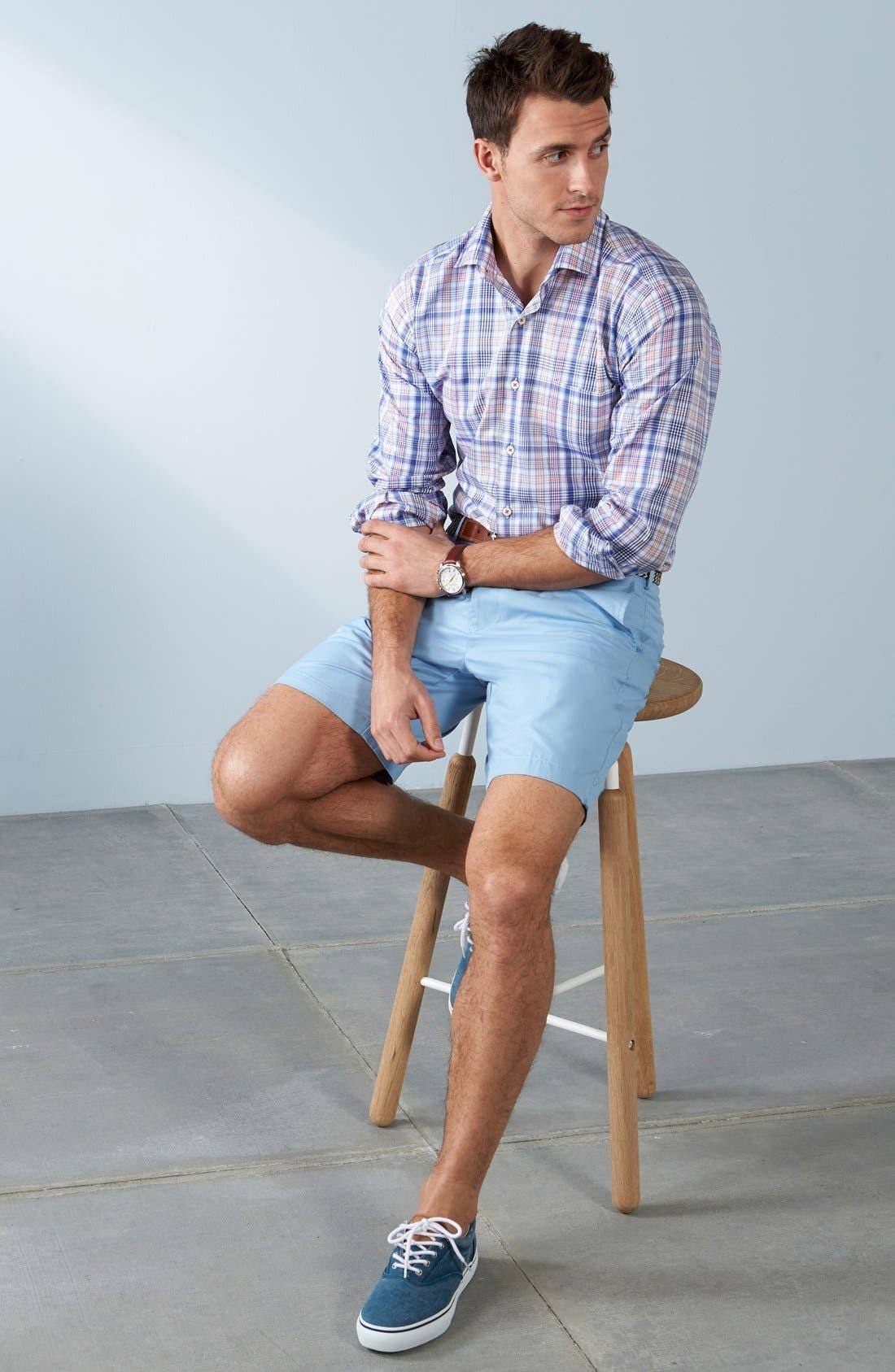 Alternate Image 7  - Peter Millar Pima Cotton Twill Shorts