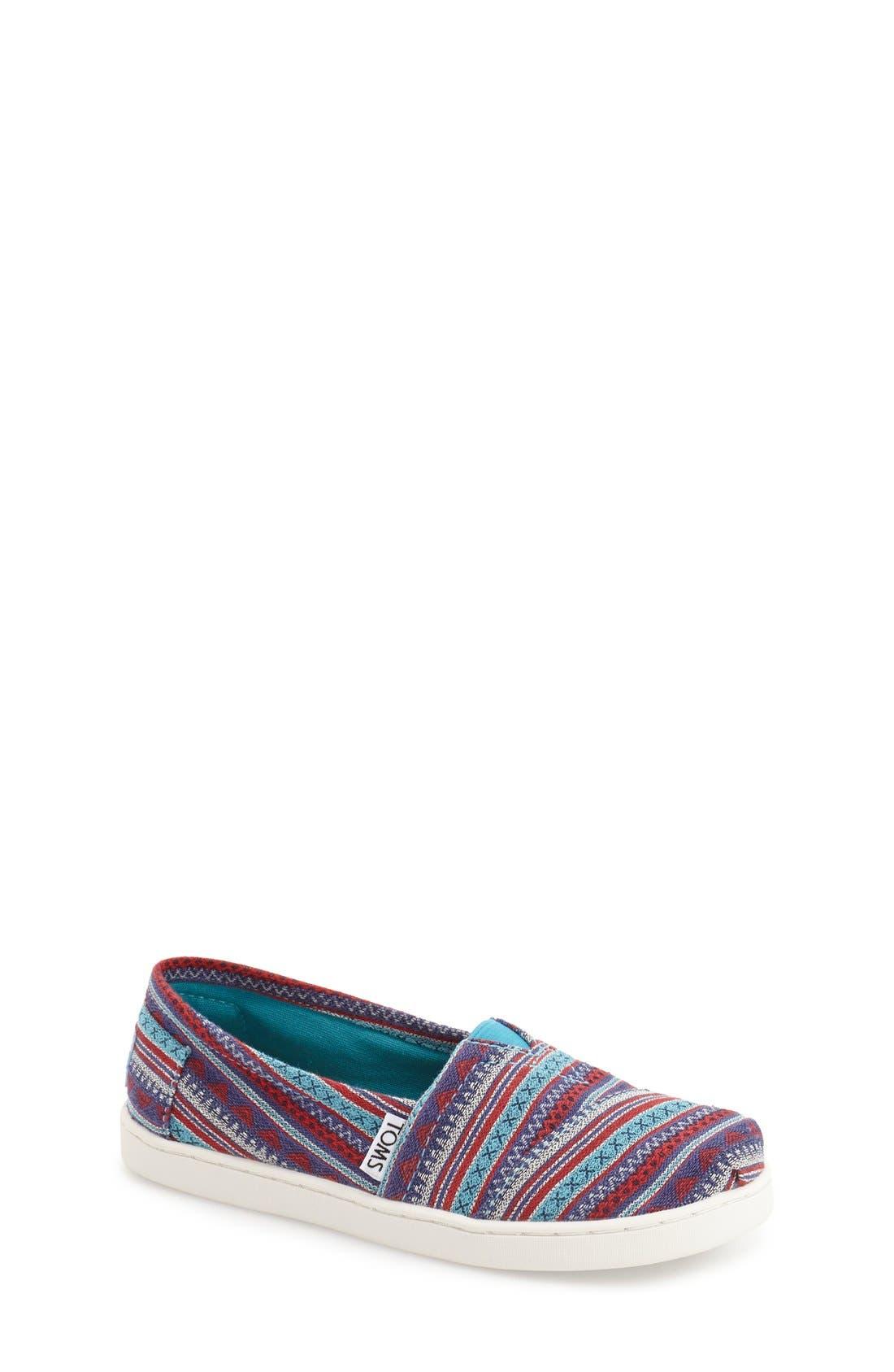 'Classic' Slip-On,                         Main,                         color, Medium Blue