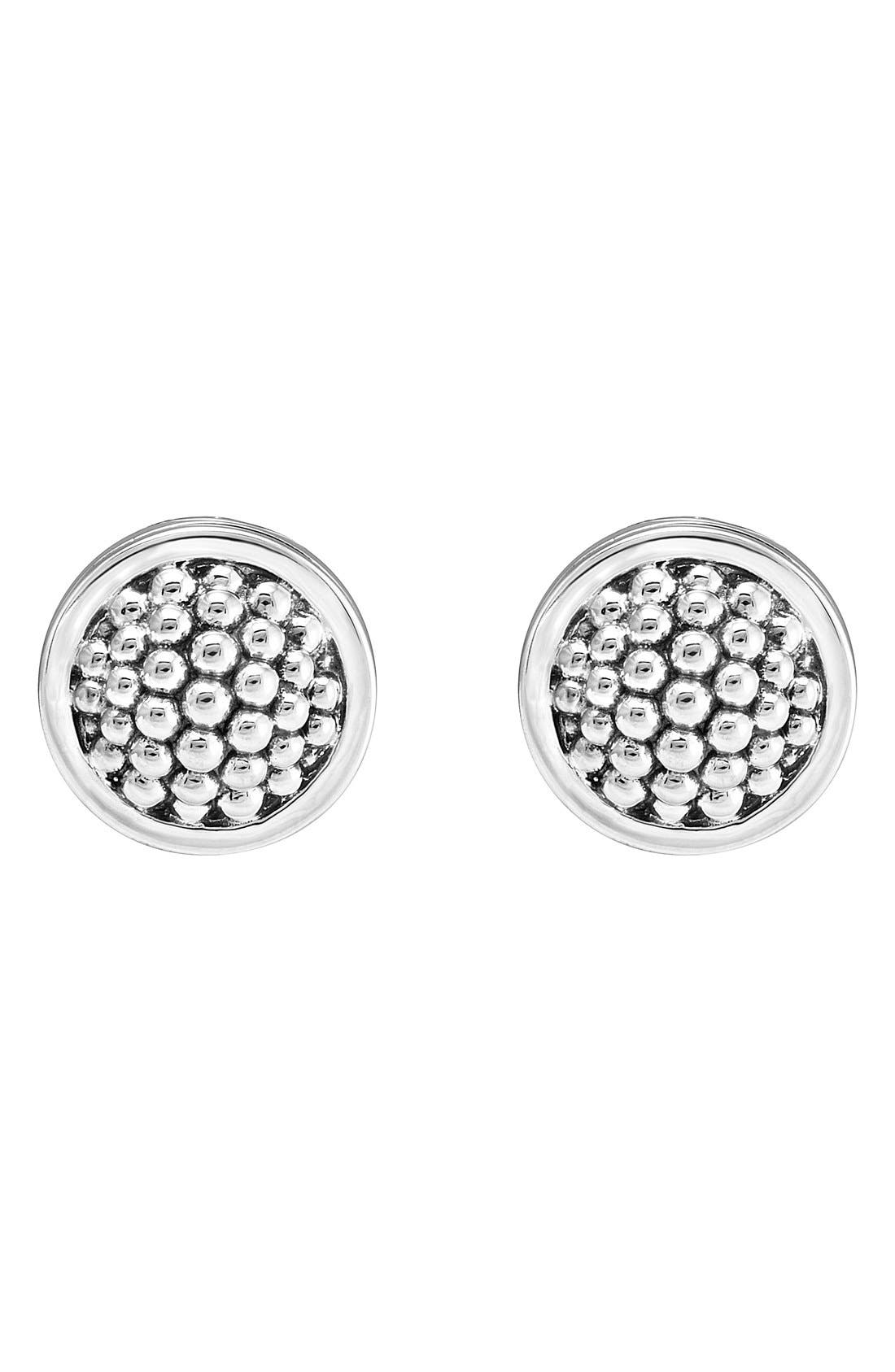 Alternate Image 2  - LAGOS Caviar Stud Earrings