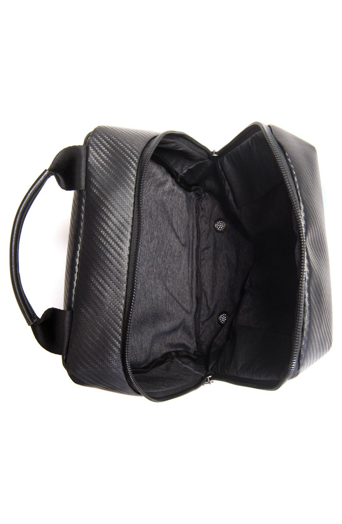 Alternate Image 3  - Vessel Pebbled Faux Leather Shoe Bag
