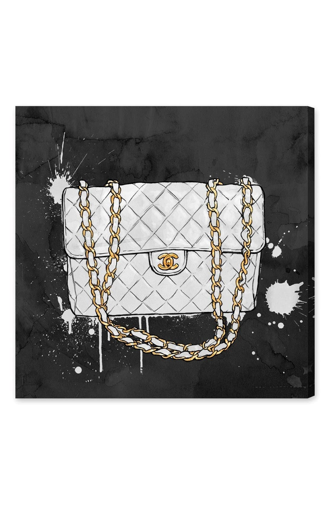 Main Image - Oliver Gal 'Everything but White' Canvas Wall Art
