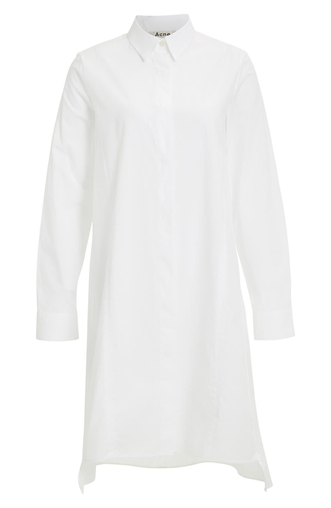 Alternate Image 4  - ACNE Studios 'Rosamund' Piqué Shirtdress