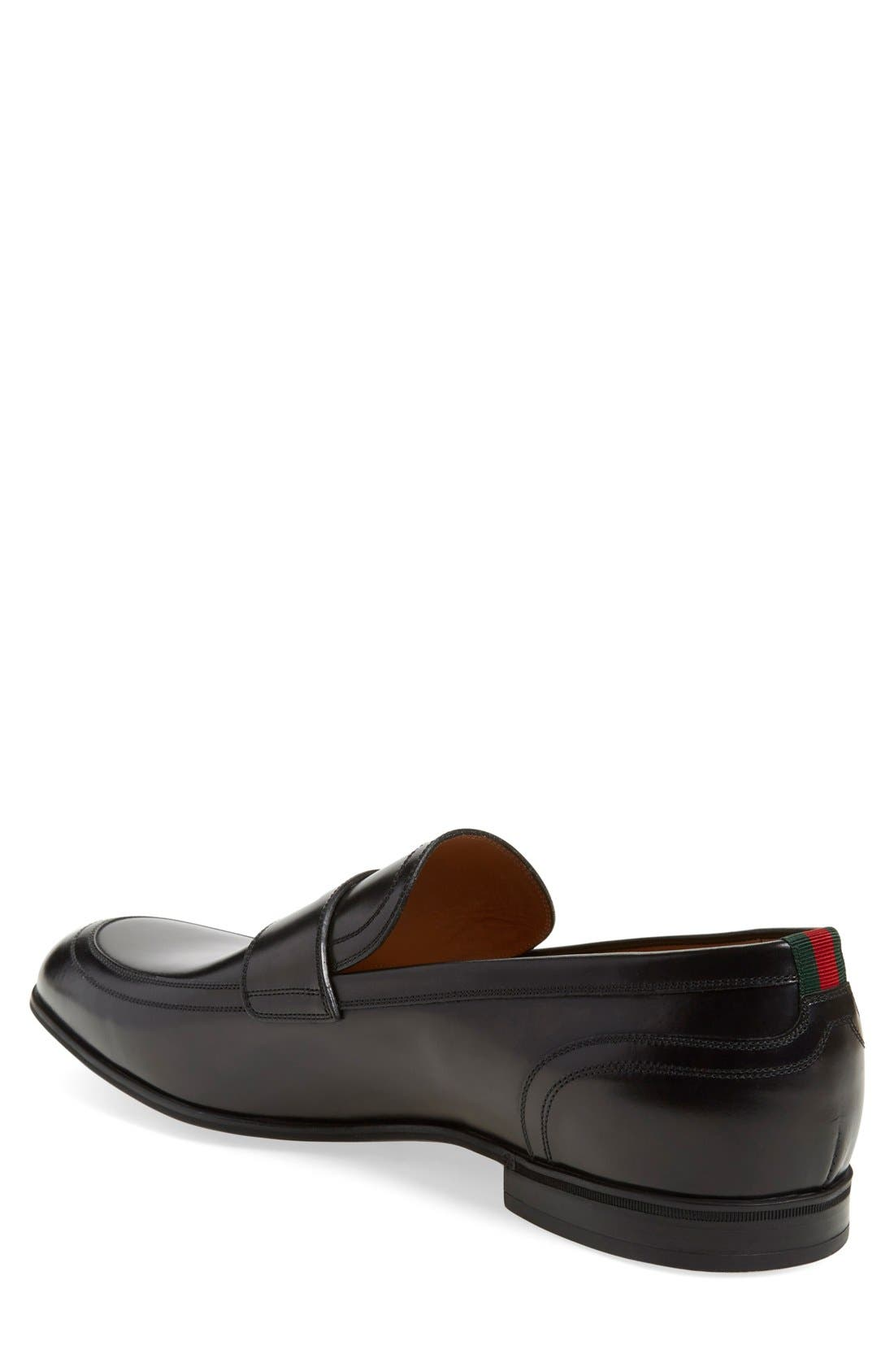 Alternate Image 2  - Gucci Ravello Penny Loafer (Men)